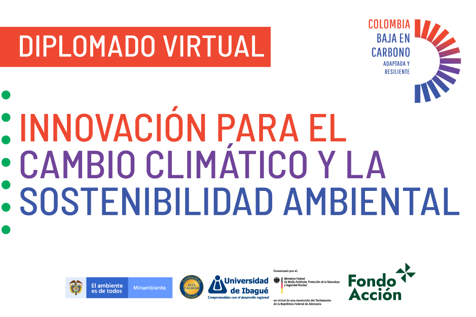 Diplomado Innovación para el cambio climático y la sostenibilidad ambiental