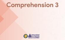 Comprehension 3