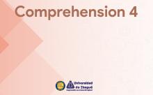 Comprehension 4